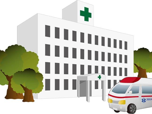 近隣の提携医院・病院への紹介